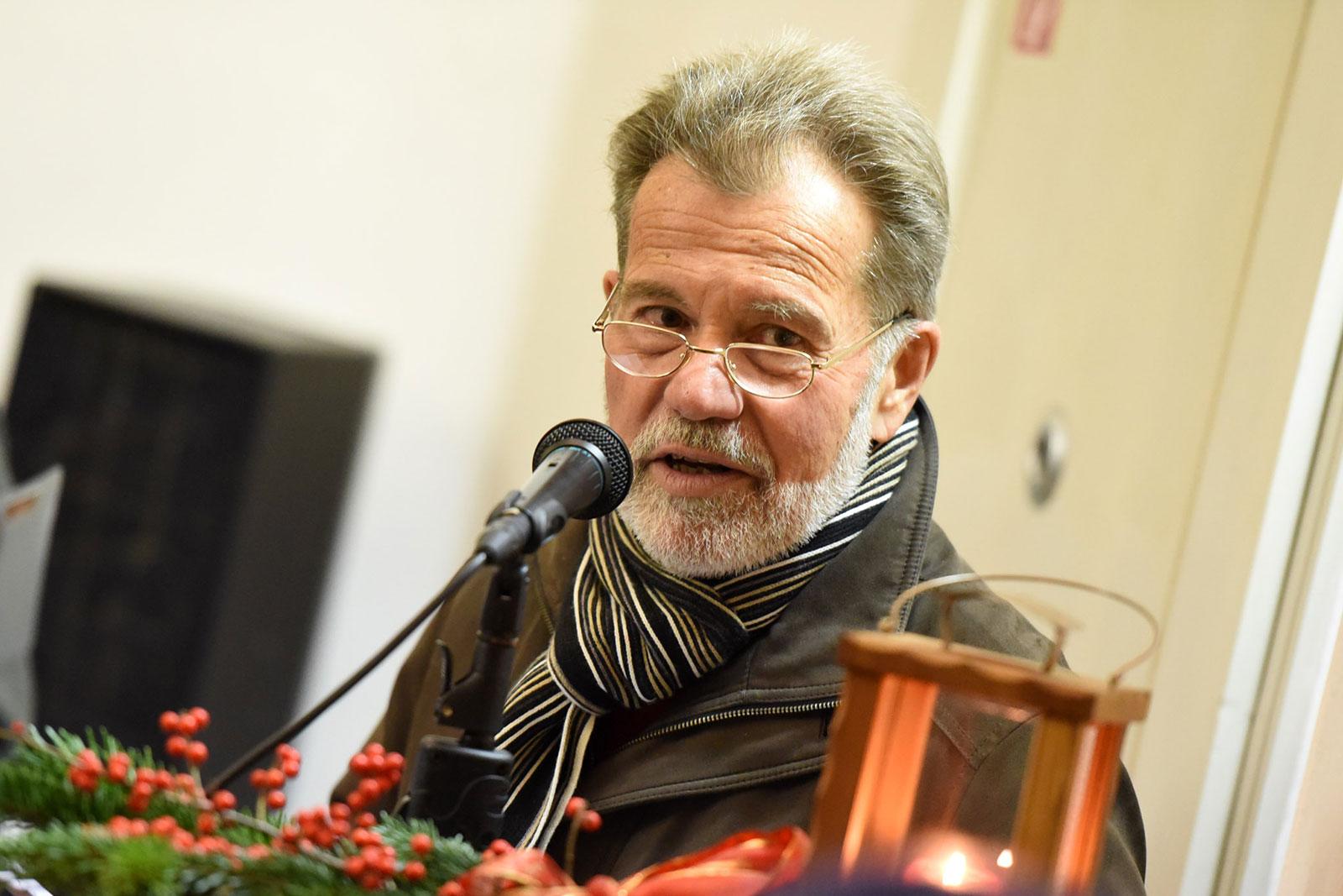 Moderator Wilfried Schögl