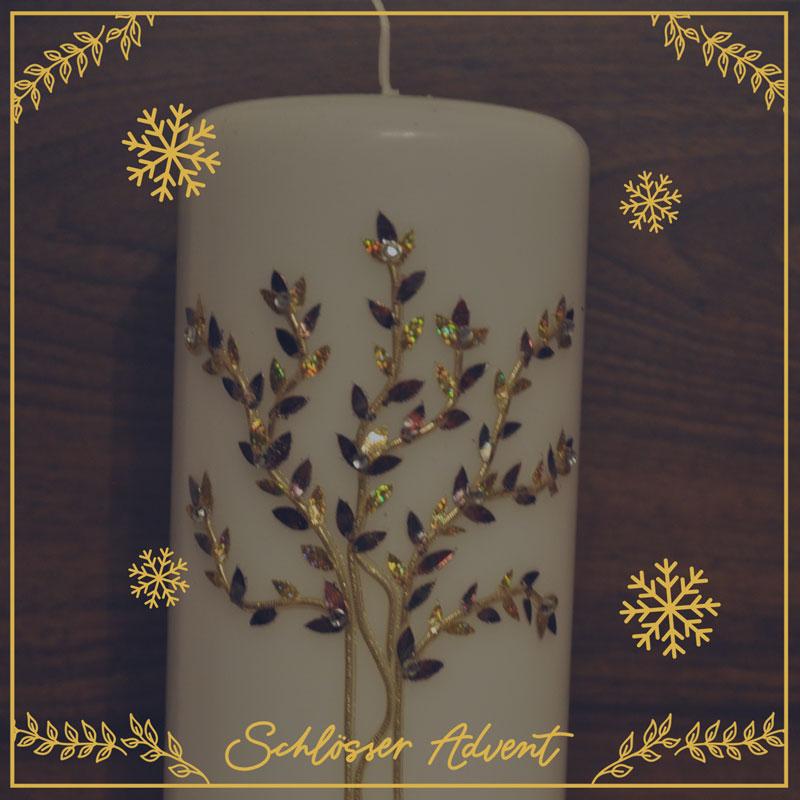 Personalisierte Kerze