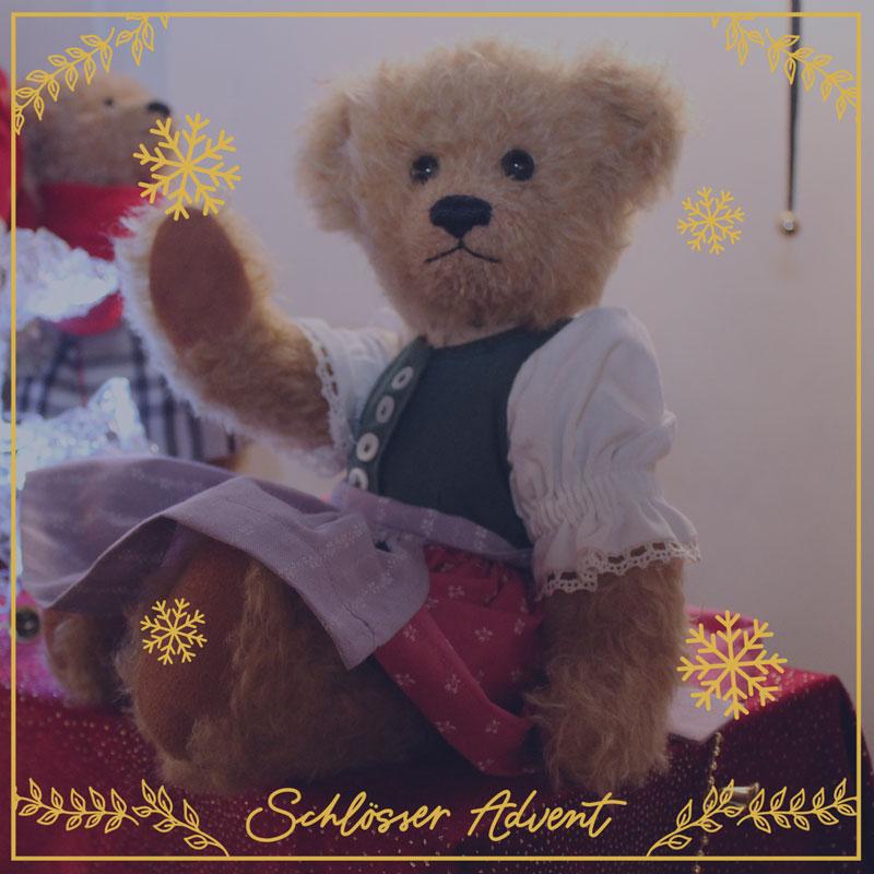 Teddybär aus Echtfell